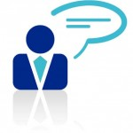 evans media group client services blue icon