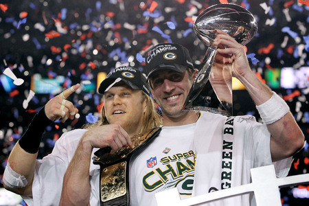 Green Bay packers super bowl champs