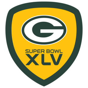 Packers Foursquare Badge Super Bowl XLV