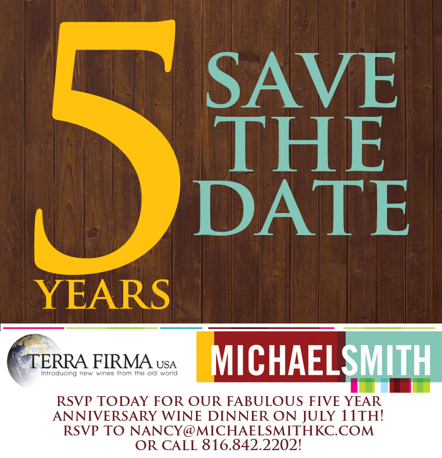 Evans Media Group Email Marketing Save the Date Michael Smith Restaurant